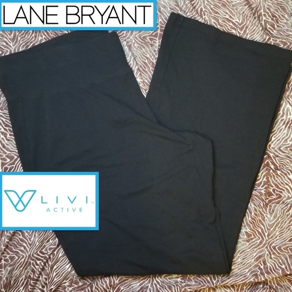Livi Active Pants - NWOT Livi Active Lane Bryant Yoga Pants Bootcut